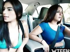 Pretty Teenage Latina Michelle Martinez Worships Big Cock And Gets Fucked