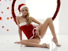Erotic Christmas with gorgeous Ukrainian blonde Nancy A