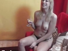 Amazing backstage time with hot czech MILF