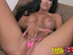 FakeAgentUK Ass grinding and pussy juice galore