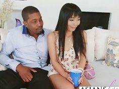 Asian Babe Marica Hase Takes Black Cock In Asshole
