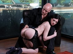 Stoya's stoic punishment