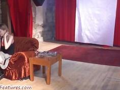 Erotic backstage with czech amateur ladies