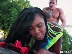 Ebony ass is the best. Staring Layton Benton.