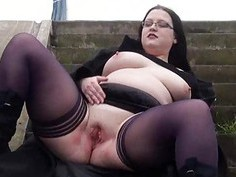 Fat Emmas public nudity and amateur bbw flashing