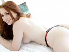 Lethal ass on gorgeous redhead