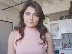 Adria's fashion model ass tricked by stepbro