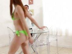 Hot Green Bikini of Alexa Nova Got Her Laid Big Time