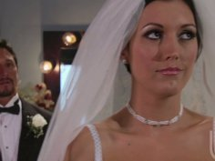 Dylan Ryder gets really horny on the eve of her wedding