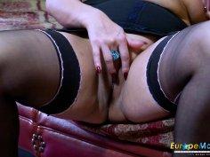 EuropeMaturE Crazy Hot Mature Solo Stripteae