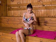 Sexy sauna seduction