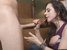 Ariellas big tits and tight MILF ass got pounded hard