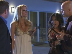Hot and astonishing Jessica Drake & Kaylani Lei swaps their boyfriends