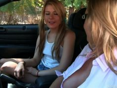 Experienced Tanya Tate seduces poor teen Bella Banxx and fills her with sin