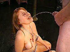 Breathtaking darling gives wet oral job with fuck