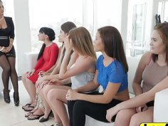 An outstanding lesbian orgy with beautiful babes